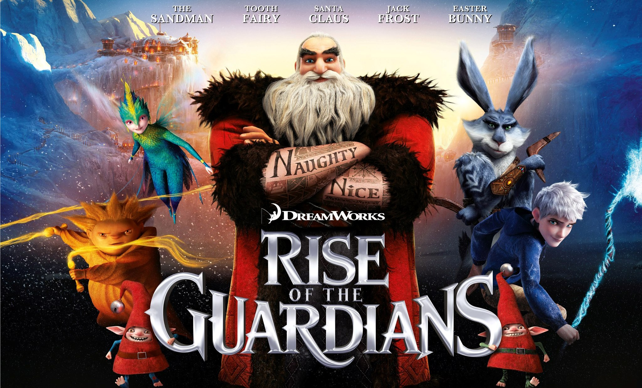 Efsane Beşli – Rise of the Guardians