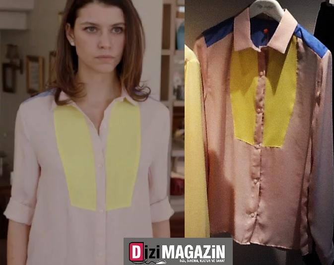 Beren Saat Boz Sisters Gömleği