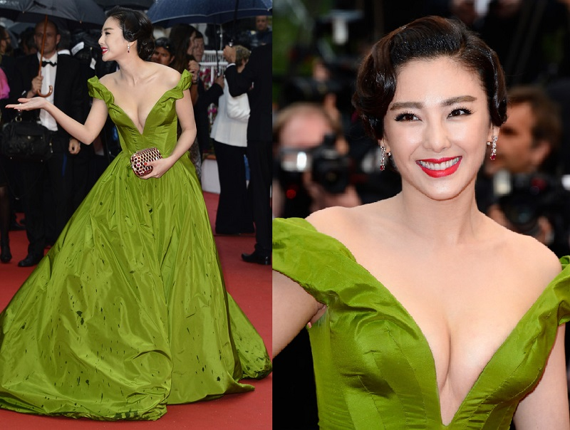 Zhang Yuqi Cannes Film Festival Elbisesi
