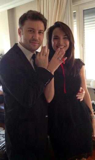 Tolga Güleç, Yeliz Şar, Nişanlandı, Nişan Fotoğrafları