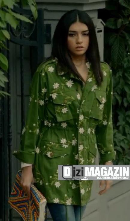 Medcezir Eylül Kıyafetleri - Twist Marka Pardesü