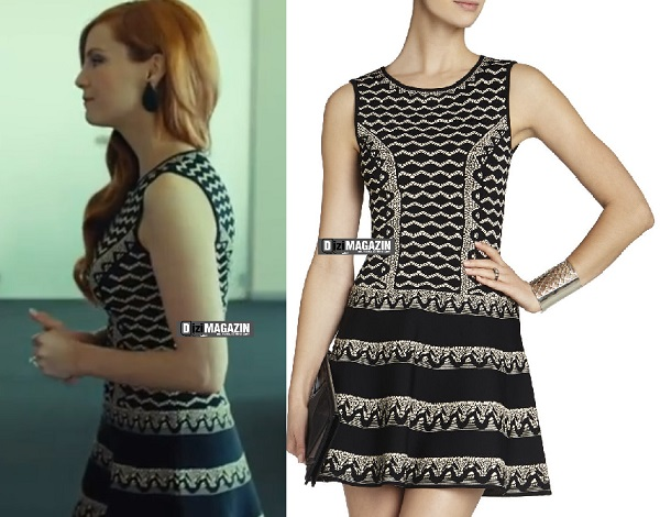 Medcezir Ender - Geometrik Desen Elbise - BCBG Max Azria