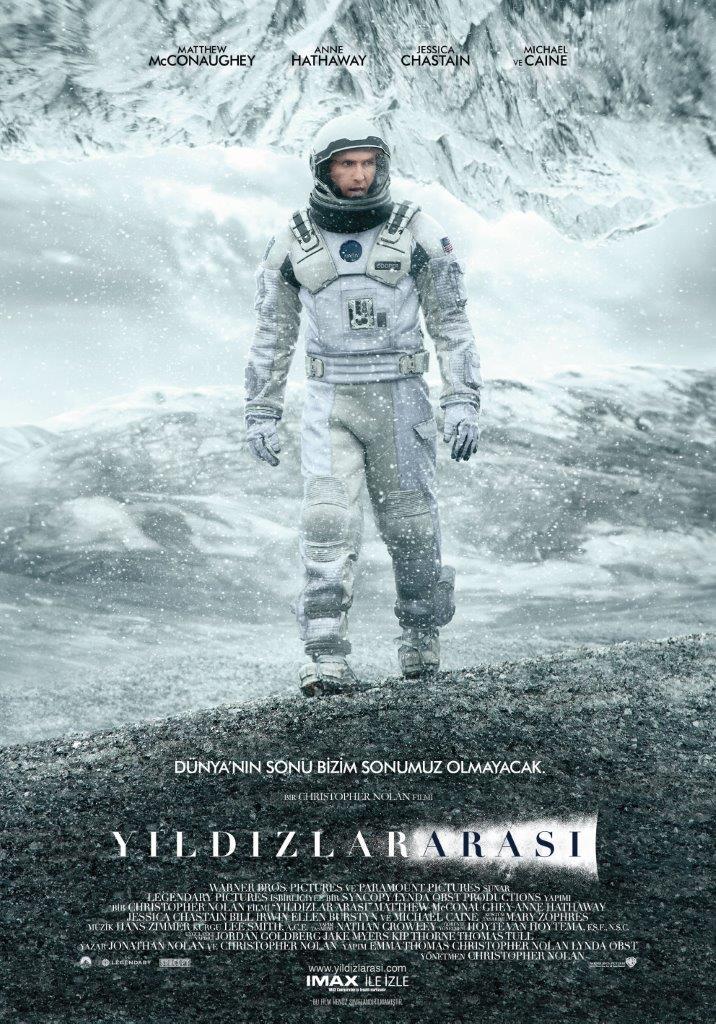 YILDIZLARARASI / Interstellar- Yeni Fragman