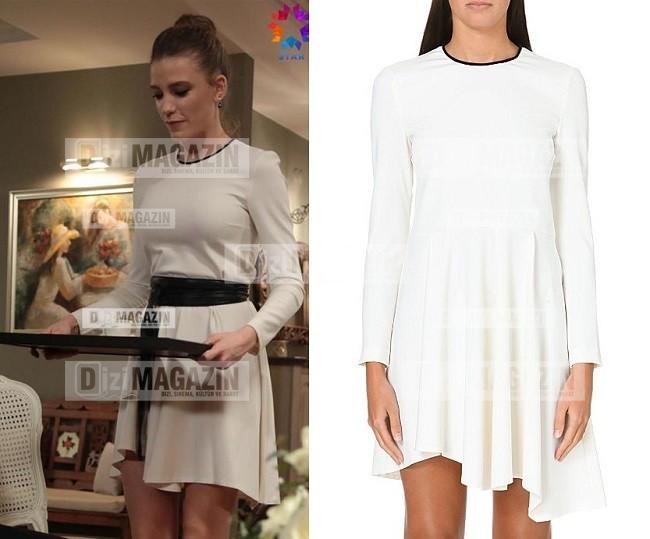 Medcezir Mira - Beyaz Elbise - Maje