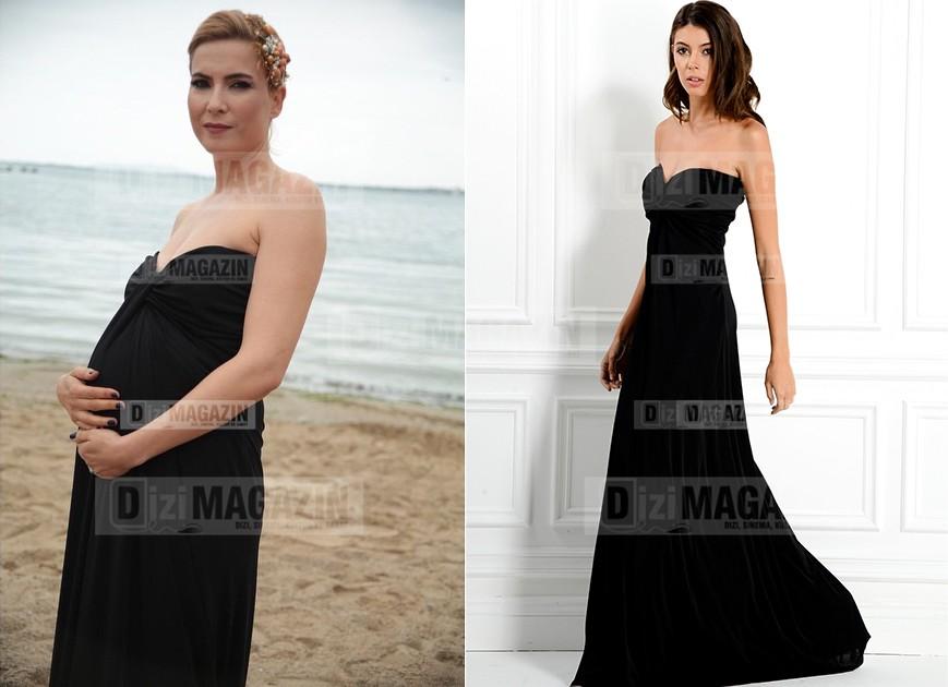 Sude Siyah Elbise